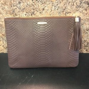 NWT GiGi New York python clutch